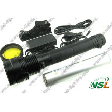 Xenon HID Flashlight Torch 85W 6600mAh Rechargeable Torchlight