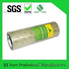 Cinta de embalaje de bajo ruido de acrílico modificada para requisitos particulares de BOPP con la muestra libre