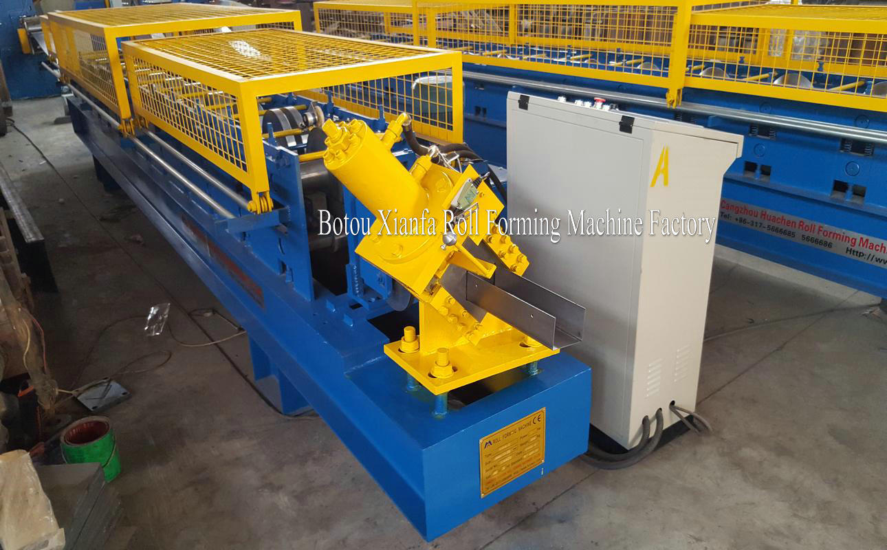 u channel steel purlin machine