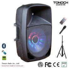 OEM ODM 12 polegadas de áudio PRO plástico com excelente desempenho