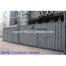40HQ Container UK 4006/4008/4012/4016 Série Diesel Genset Prix