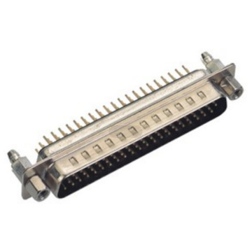 D-SUB PCB Male Three Row Straight (gestempelde pin)