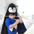 Детское полотенце с капюшоном лицо pinguin животное персонализированные подарок до 1 года размер