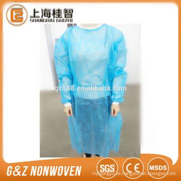 ropa quirúrgica no tejida spunbond traje quirúrgico disposabale