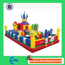 Хорошее качество 0.55 ПВХ надувной гигантский прыжки замок надувной город удовольствия для детей