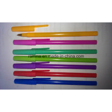 School Suppliers Stick Ball Pen with Nice Color Design