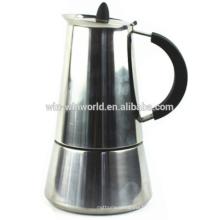 Machine à café expresso moka en acier inoxydable