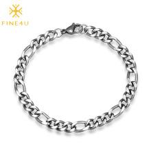 Wholesale new arrival stainless steel link chain bracelet for men