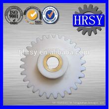 Kunststoff / POM / Nylon Ritzel M5 mit Messing Buchse