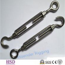 Ss316 European Frame Type Turnbuckle of Rigging Hardware