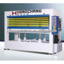 Máquina de prensado en caliente de madera contrachapada de calidad confiable