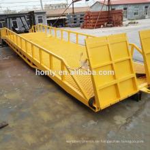 Hontylift Gabelstapler-Rampen / Mobile Ladebrücke