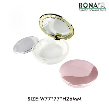 Custom Design Plastic Empty Powder Compact