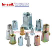 Galvanized Hex Head Blind Rivet Nuts Made in Shenzhen