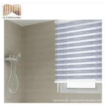 fireproof european style lace pleated window blinds for USA