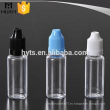 Botellas con cuentagotas e-liquid para mascotas de plástico de 10 ml y 20 ml