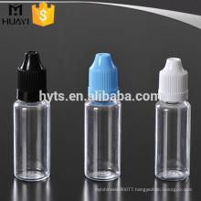 10ml 20ml plastic pet e-liquid dropper bottles
