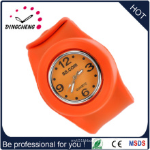Waterproof Quartz Man Sport Cheap Silicone Slap Adult Watch (DC-1352)