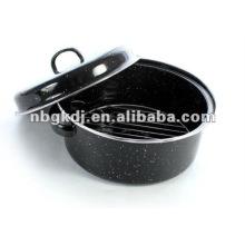 pote de assado de esmalte com grade SS201 ou grade SS304