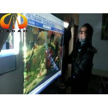 Film de projection pour animaux de compagnie transparent de 5 mètres de largeur