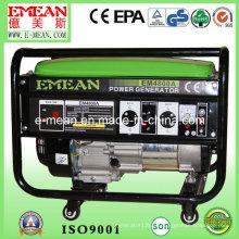 Grupo de gerador trifásico da gasolina do começo 3kw elétrico (EM4800A)