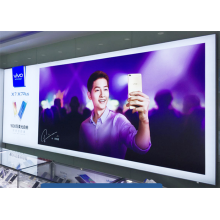 Werbung Strectch Frameless Fabric Light Box Display