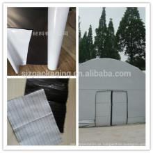Schwarzer weißer Polyethylenfilm / PE-Folie / PET-Folie