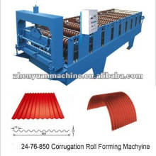corrugated aluminum cladding machine