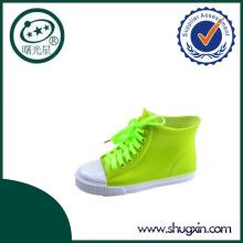 Shugxin детей Плоский каблук с пряжкой зеленый дождь обуви D-615