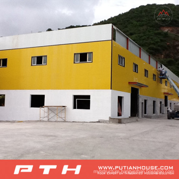 Prefabricated Customized Professional Designed Large Span Steel Structure Warehouse