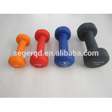 Color urethane dumbbell for sales