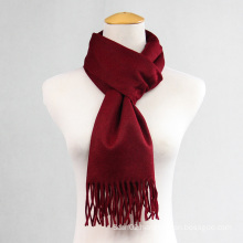 Dark Red Girl′s General Cashmere   Muffler  CD20FL