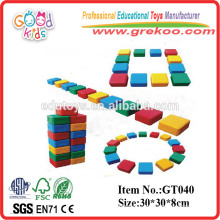 Amusement Park Equipment Plastic Kids Hollow Blocks