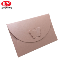 Custom logo different color paper envelope