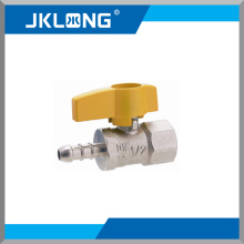 Schroef Messing Gas Ball Valve