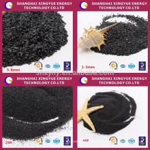 30/80 mesh 85% Al2O3 Black Fused Alumina / Polir em pó de óxido de alumínio