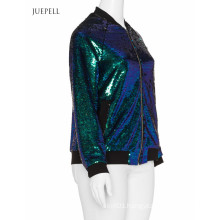 Sequin Bomber Women Jacket