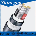 XLPE insulated Aluminum conductor electrical cable 26/35kV