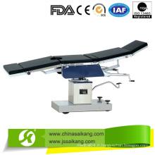 Table d'opération en acier inoxydable 304 de haute qualité