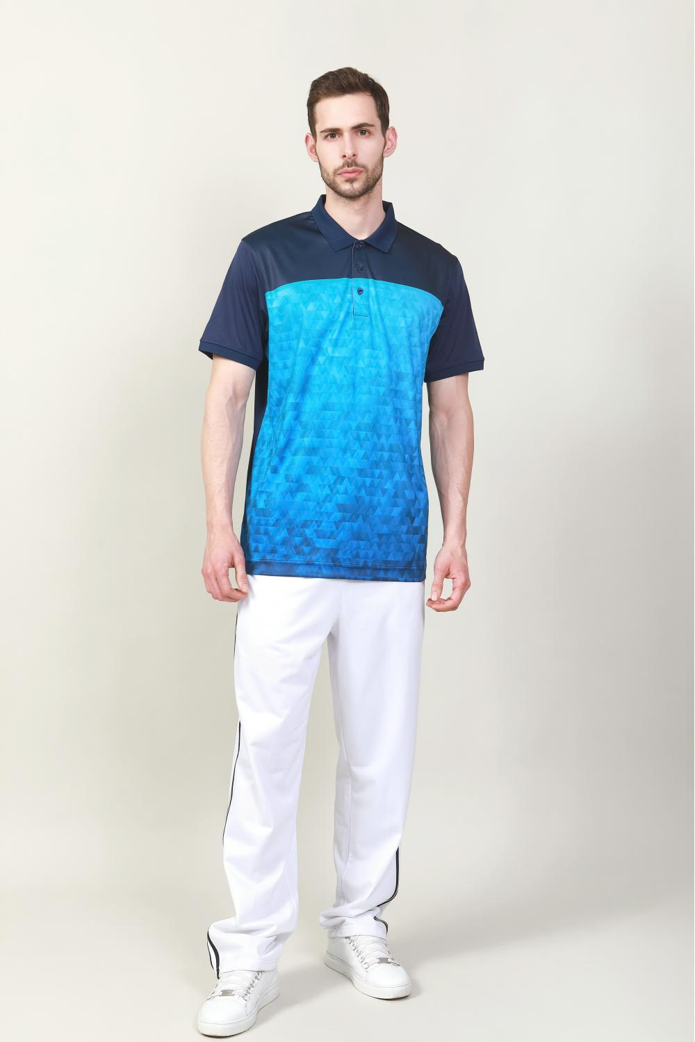 white tricot track pants