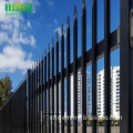 wrought iron fence metal modern steel fence design