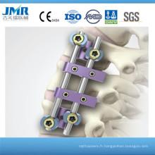 Système postérieur de fixation thoracique (SCS), colonne vertébrale, implant orthopédique, implant orthopédique