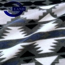 imprimindo a tela 100 da flanela da malha do poliéster para a matéria têxtil home