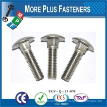 Feito em Taiwan Stainless Steel Carbon Steel Step Bolt Zinc Plated Passivated