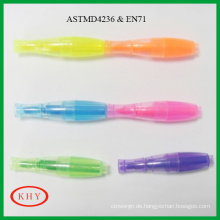 MIni Bowling Shape with Colored Ink Highlighter Marker Pen
