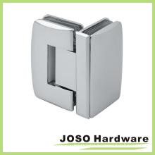 Charnière pivotante de douche de verre à verre de 90 degrés (BH6004)