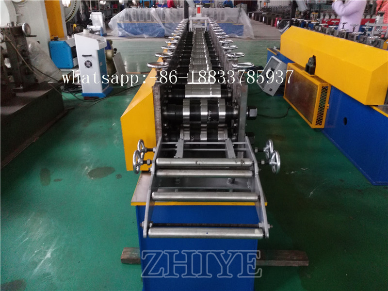 China Omega Profile Roll Forming Machine