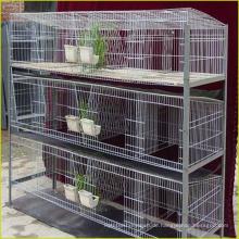 2016 heiße Verkaufsgroßverkauf bewegliche Kaninchenkäfigherstellung