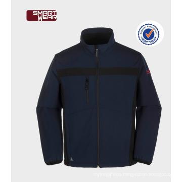 Custom Softshell Jacket Mens Hip-Hop Long Lightweight Windbreaker Jackets