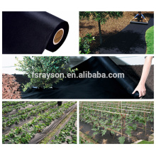 Best PP Black Fabric Lawn Weed Control without Mulch